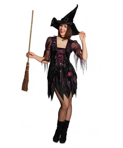 Костюм ведьмы в розовой паутине: платье (Германия)