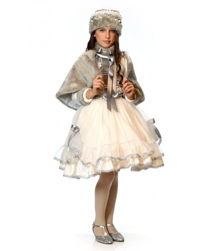 Детский карнавальный костюм Принцесса Катерина: платье, шапка, накидка (Италия)