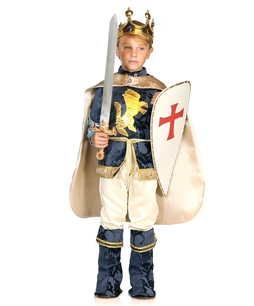 Детский карнавальный костюм короля : жакет, штаны, накидка ... - photo#38