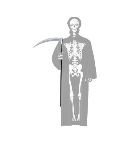 Коса для костюма смерти на Хэллоуин: 110 см