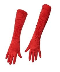 Перчатки красные