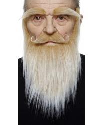 Русые борода, усы, брови