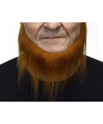 Рыжая короткая борода с бакенбардами