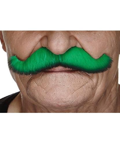Усы зеленым цветом с черной полосой по краю (Литва)