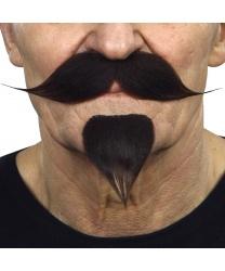 Усы с бородкой