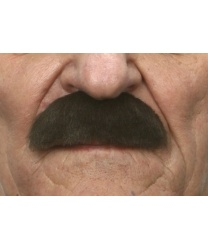 Усы шеврон темно-коричневые