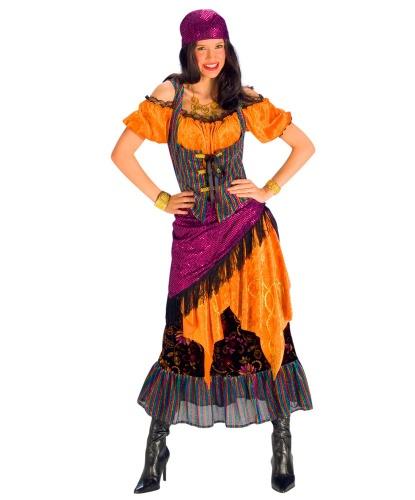 Платье цыганки: платье, бандана (Германия)