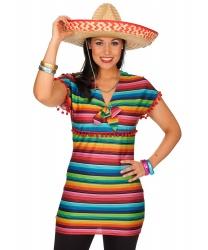 Женская блузка в мексиканском стиле