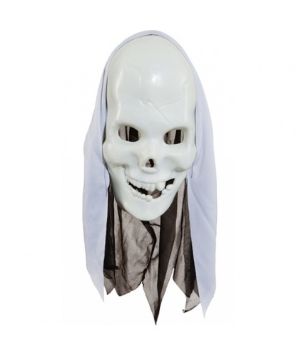 Маска скелет, полиэстер, пластик (Германия)