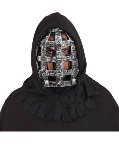 Маска с капюшоном Человек в железной маске, полиэстер, пластик (Германия)