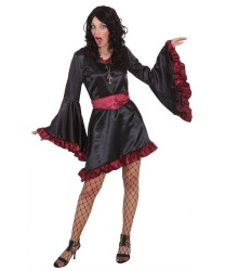 Женский костюм вампирши