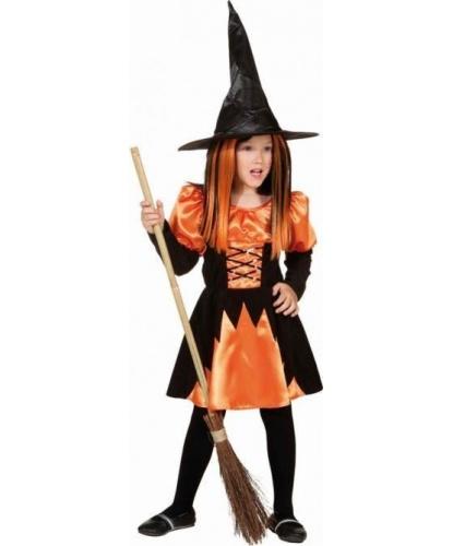 Костюм Хэллоуинновской ведьмы: платье (Германия)