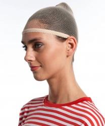 Сеточка для волос бежевая