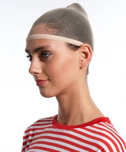 Сеточка для волос бежевая: бежевый (Германия)
