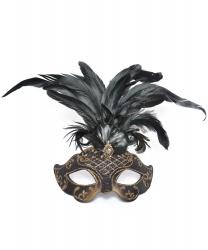 Венецианская маска Civetta bry ciuffo