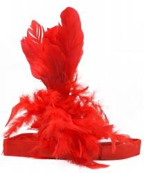 Красная повязка на голову