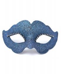 Синяя венецианская маска