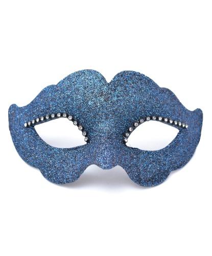 Синяя венецианская маска, папье-маше (Италия)