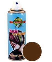 Спрей-краска для волос, коричневая