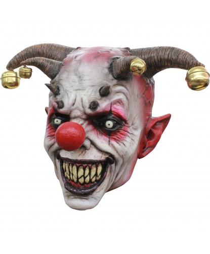 Маска Клоун с бубенцами, латекс (Мексика)