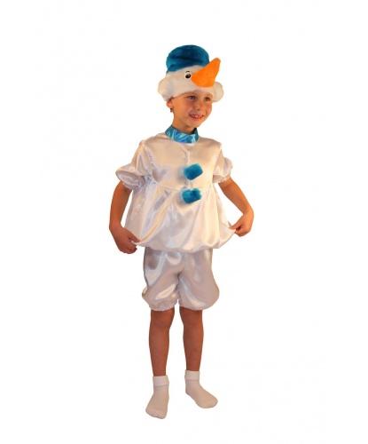 Костюм Снеговика в шортах: шорты, рубашка, шапочка (Россия)