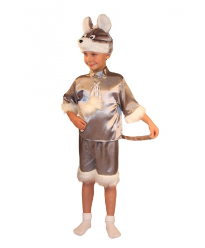 Детский костюм Мышка: шорты, рубашка, шапочка (Россия)