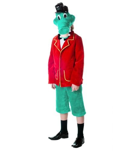 Костюм Крокодила Гены: пиджак, шорты,шапка-маска (Украина)