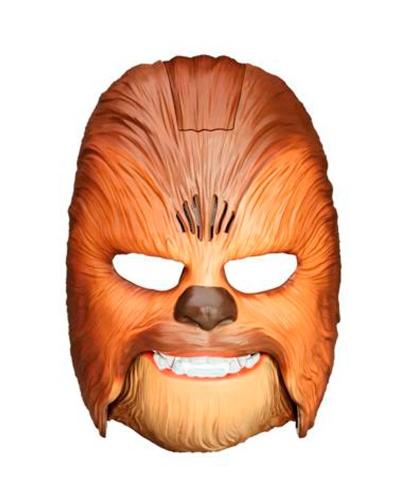Маска Чубакки из Star Wars, пластик (США)