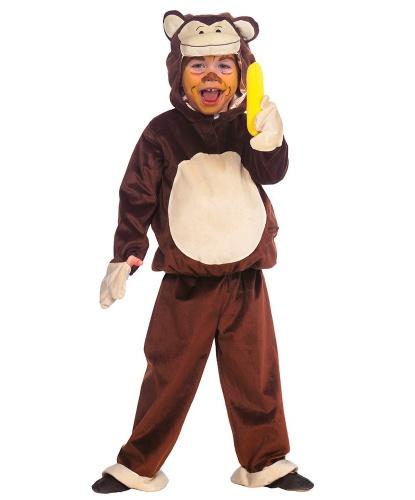 Детский костюм Обезьяны: кофта с капюшоном, брюки (Германия)