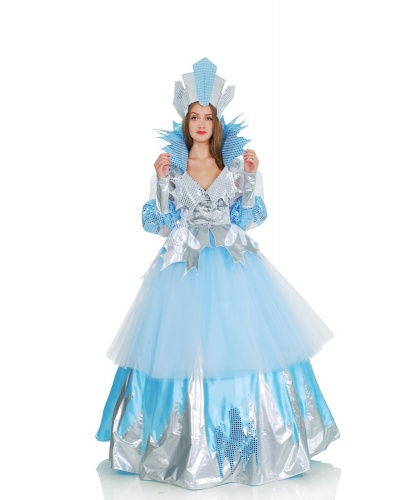 Костюм Снежная королева: юбка, кафтан, корона, кринолин (Украина)
