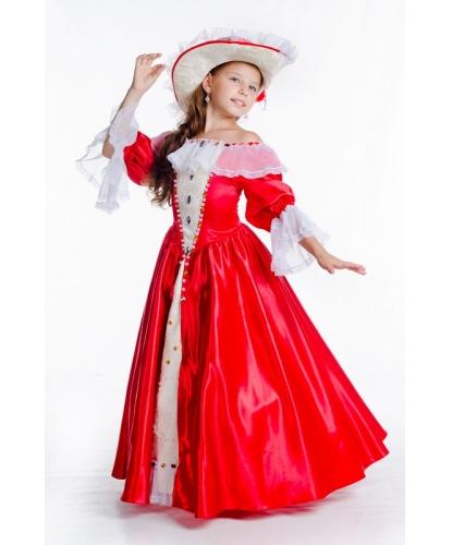 Костюм Миледи :  платье, подъюбник, шляпа (Украина)