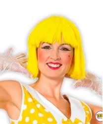 Желтый короткий парик от Bambolo