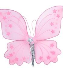 Крылья бабочки 35х42 (в ассортименте белые и розовые цвета)
