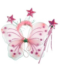 Набор зубной феи (розовый)