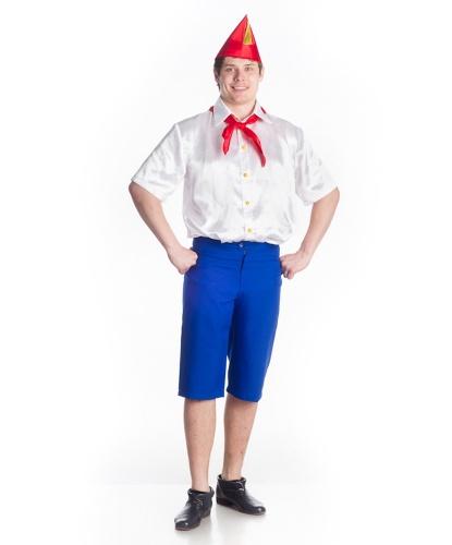 Костюм Пионера: шорты, рубашка, галстук, пилотка (Украина)