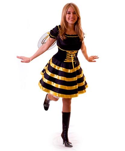 Взрослый костюм пчелки: платье, крылья (Украина)