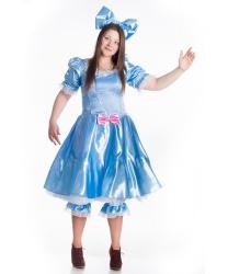 Взрослый костюм Мальвины от Bambolo