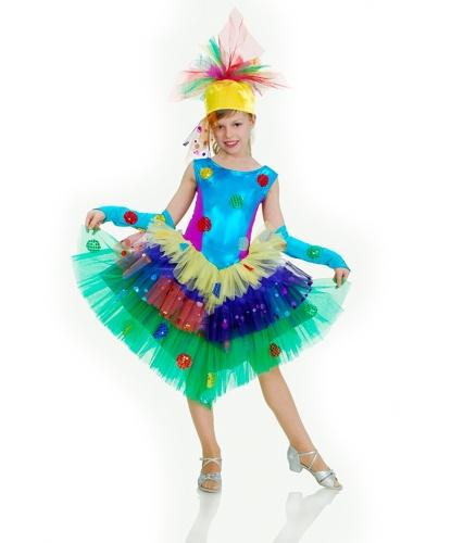 Платье Хлопушки: платье, головной убор, перчатки (Украина)