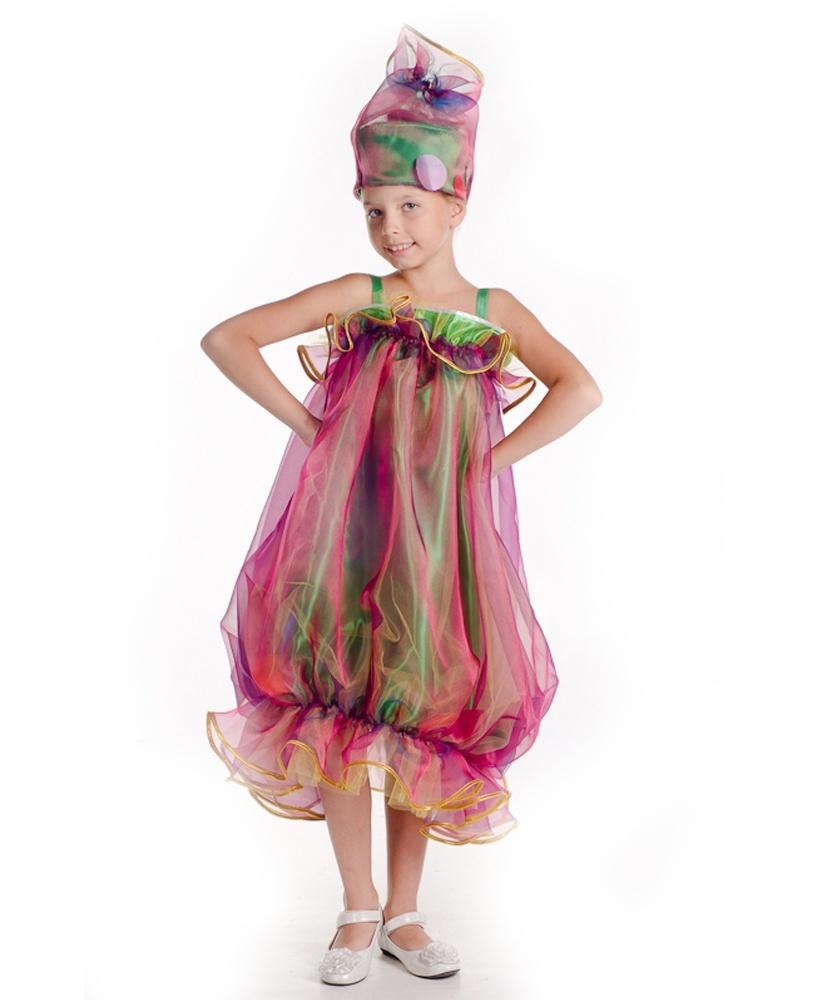 Новогодний костюм хлопушки: платье, головной убор (Украина) - photo#39