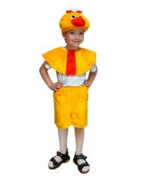 Детский костюм Цыплёнок: головной убор, накидка, бриджи (Россия)