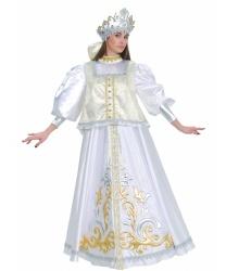 Женский костюм Зимы боярский