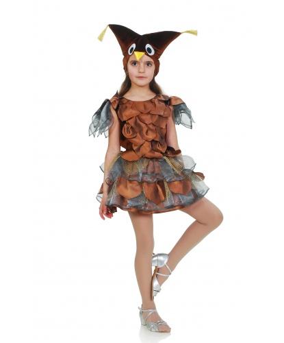 Костюм Совы для девочки: платье, шапка (Украина)
