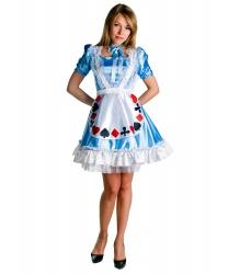 Взрослый костюм Алисы из страны Чудес