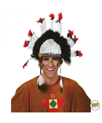 Перья Дакота: черный, белый, красный (Германия)