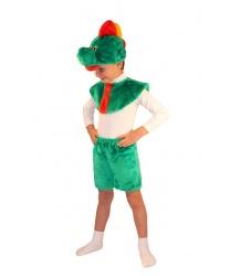 Детский костюм дракона (головной убор, накидка, шорты)