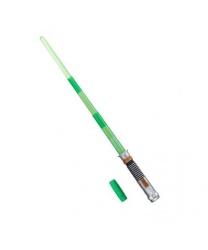 Световой меч Люка Скайуокера (с эффектами)