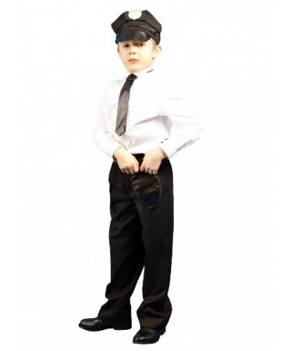 Набор полицейского : фуражка, галстук, кобура (Россия)