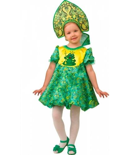 Детский костюм Царевна-лягушка: платье, кокошник (Россия)