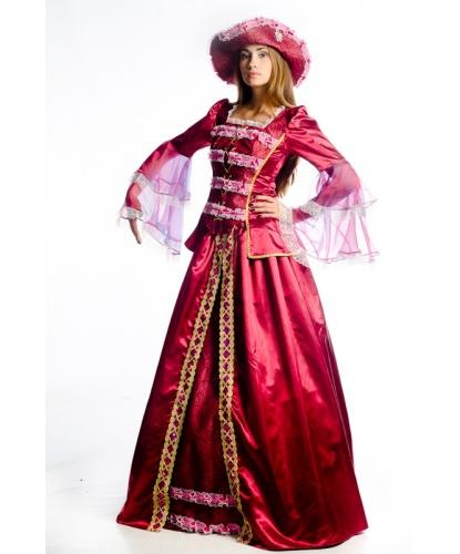 Костюм баронессы : корсет, юбка, подъюбник, шляпа (Украина)