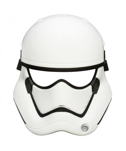 Пластиковая маска Штурмовика (Stormtrooper ) детская, пластик (Китай)